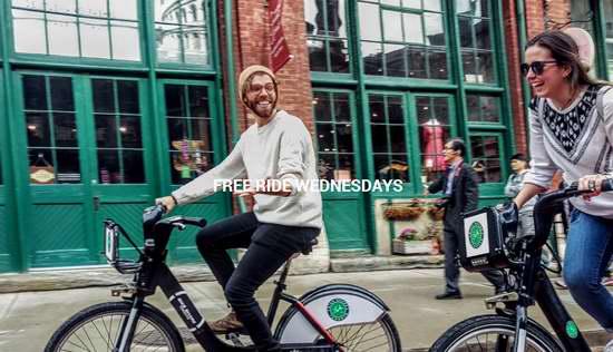 今日起!多伦多Bikeshare共享单车7月份每周三免费享受30分钟骑行!