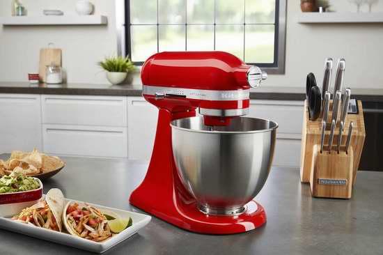 KitchenAid 厨宝 Artisan 名厨系列 KSM3311 3.5夸脱 多功能立式厨师机 315.54-329.99加元包邮!10色可选!