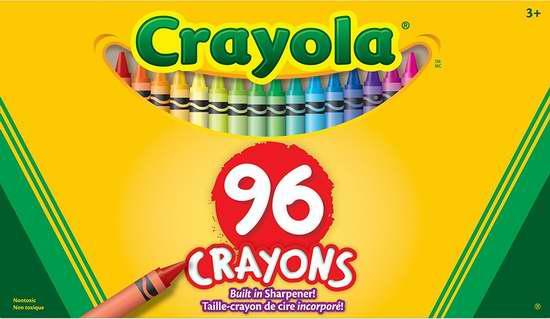 历史新低!Crayola 蜡笔96支装 3.97加元!