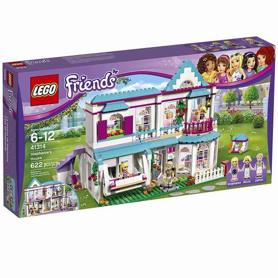 历史最低价!LEGO 乐高 41314 好朋友系列 斯蒂芬妮的房子 6.7折 60加元包邮!