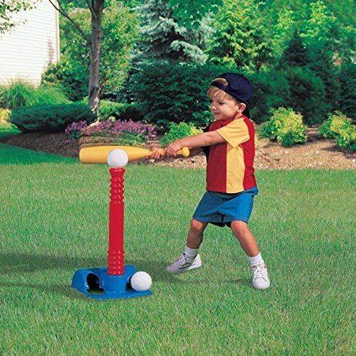 Little Tikes 小泰克 Tot Sports T-Ball 儿童安全棒球玩具套装 11.13加元清仓!
