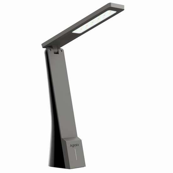 Aglaia USB充电LED可调光护眼台灯 9.99加元限量特卖!