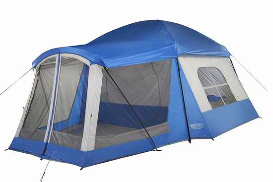 历史新低!Wenzel 36424B Klondike 家庭8人野营帐篷 178.27加元包邮!