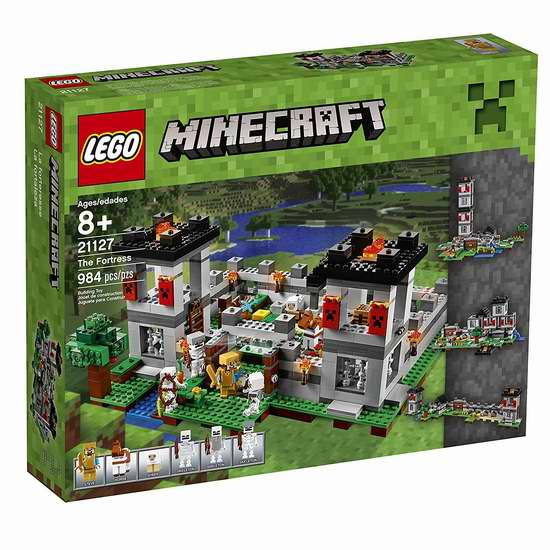 LEGO 乐高 21127 堡垒要塞 6折 83.92加元,原价 139.99加元,包邮
