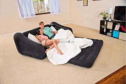 Intex Pull-out 二合一充气沙发/Queen床6折 59.99加元包邮!