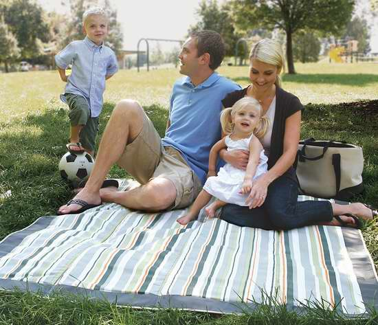 金盒头条:JJ Cole JEMGG 户外野餐垫/儿童游戏垫 26.97加元!