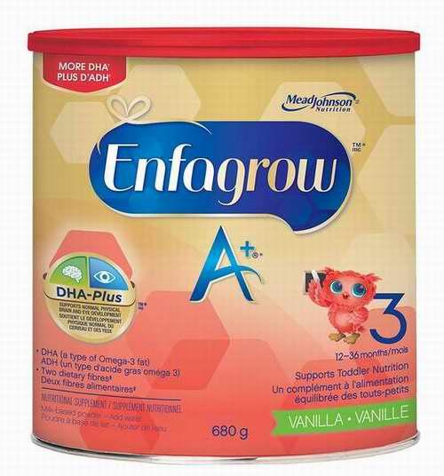 Enfagrow 美赞臣 A+ 幼儿配方奶粉 16.99加元包邮!
