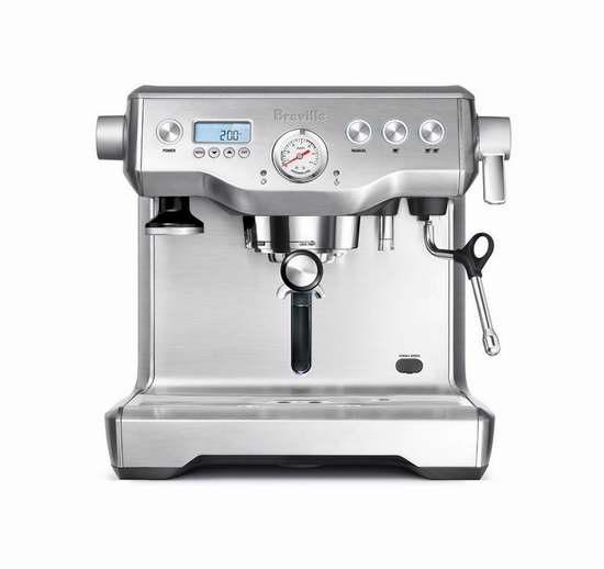 Breville 铂富 BREBES920XL 专业双锅炉意式浓缩咖啡机6.4折 1083.74加元包邮!
