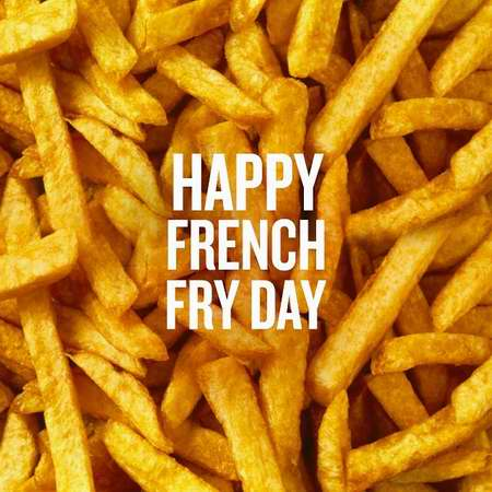 国际薯条日!McDonald's 麦当劳 7月13日消费就送中杯薯条!