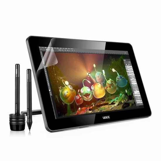 Ugee 友基 HK1560 15.6英寸 IPS专业手绘屏/电子数位屏 439.99加元限量特卖并包邮!会员专享!