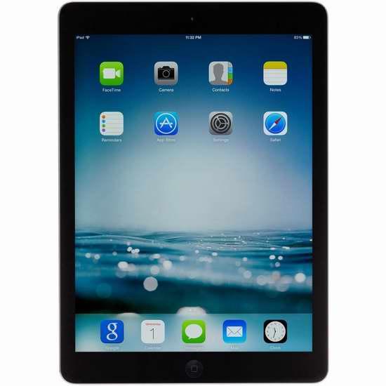 翻新 Apple iPad Air FD785LL/A 16GB 9.7英寸平板电脑 303.99加元限量特卖并包邮!会员专享!