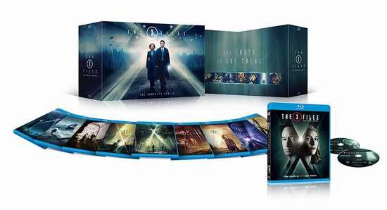 金盒头条:历史新低!《X-Files X档案》蓝光影碟版(1-10季) 89.99加元包邮!