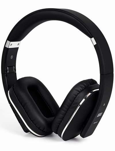 August EP650 黑色蓝牙无线头戴式耳机 43.15加元限量特卖并包邮!