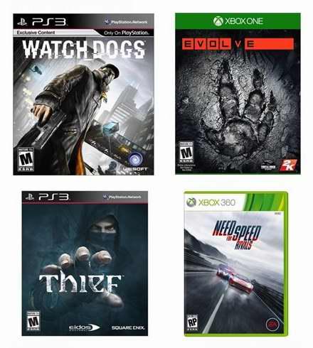 精选数十款 PS3/PS4/Xbox One/Xbox 360/Wii U 视频游戏1.9折起特卖!