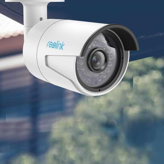 Reolink RLC-410S IP PoE 有线室外智能监控摄像头 87.99加元限量特卖并包邮!