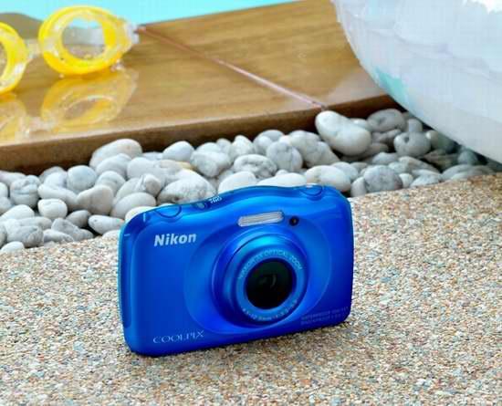 历史新低!NIKON 尼康 COOLPIX S33 防水防尘防震 三防数码相机 99.99加元包邮!