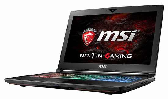 历史新低!MSI 微星 GT62VR 6RD-026CA Dominator 15.6寸顶级游戏笔记本电脑6.7折 1349加元包邮!