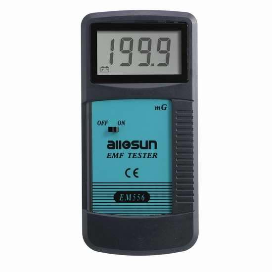 all-sun EMF 数字式电磁辐射检测仪 31.44加元限量特卖并包邮!