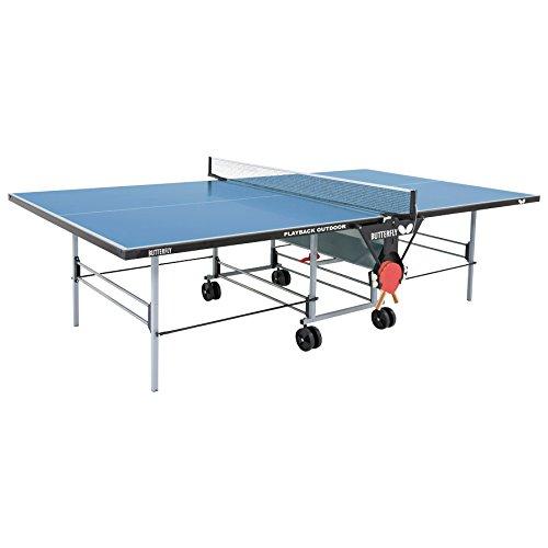 售价大降!历史新低!Butterfly 蝴蝶 TW24B 户外可折叠乒乓球桌5折 652.07加元包邮!
