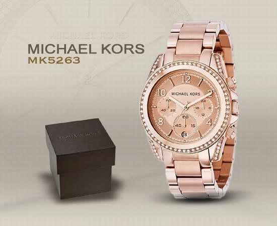 近史低价!Michael Kors MK5263 瑰丽晶钻 女士玫瑰金三眼腕表/手表4.1折 138.61加元包邮!