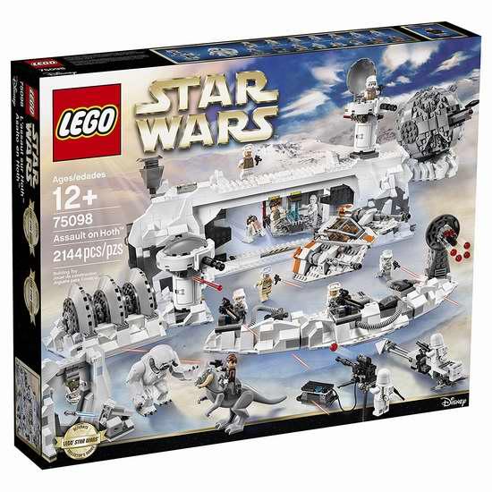 黑五专享!历史新低!LEGO 乐高 75098 星球大战 霍斯基地突袭(2144pcs)6折 179.99加元包邮!