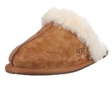 历史新低!UGG Scuffette Ii 女士防潮毛绒拖鞋5.2折 59.85加元包邮!