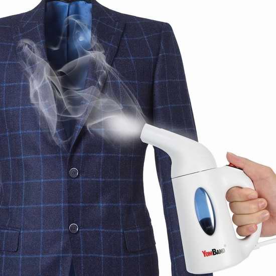 YOMBAND 手持式蒸汽挂烫机 25.59加元限量特卖并包邮!