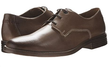 Hush Puppies Glitch Parkview 男士牛津鞋(8码、8.5码)3折 48.89-55.86加元清仓并包邮!