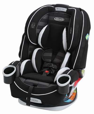 黑五专享:历史新低!Graco 葛莱 4Ever All-In-One 顶级全阶段儿童汽车安全座椅5.5折 249加元包邮!5色可选!