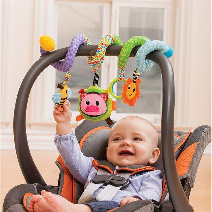 Infantino Spiral 婴儿螺旋车挂玩具 15.97加元,原价 19加元