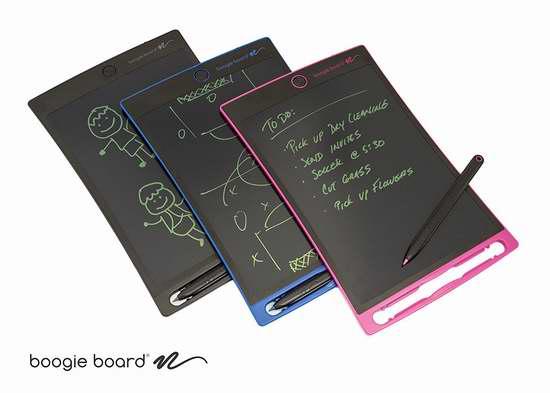 Boogie Board Jot 8.5英寸LCD电子写字板/画板 29.99加元!