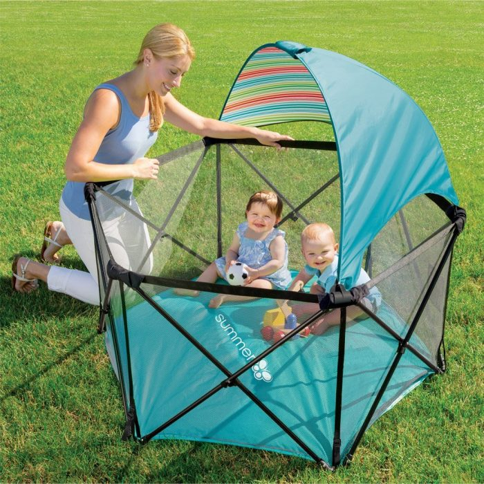 Summer Infant 便携式婴儿室内/室外玩乐围栏 69.99加元,原价 119.99加元,包邮