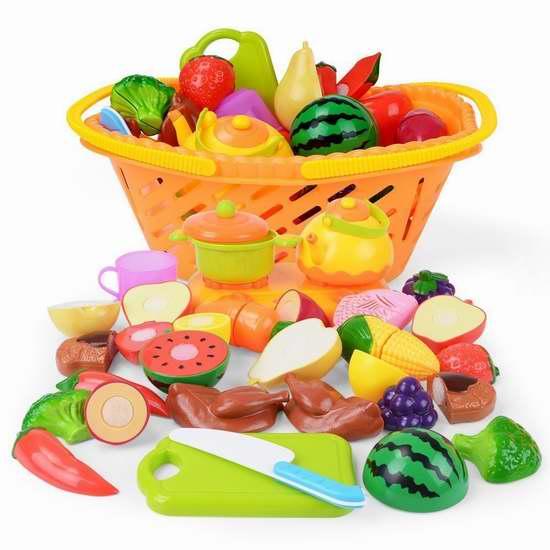 NextX 幼儿厨房切菜玩具套装 21.25加元限量特卖并包邮!