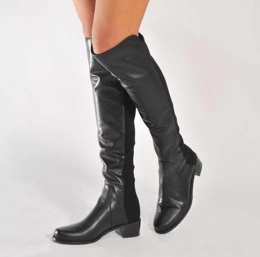 Stuart Weitzman Reserve 女式过膝长筒美靴(9.5码)4.9折 437.64加元包邮!