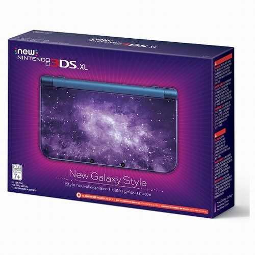 历史最低价!Nintendo 任天堂 Galaxy 银河系主题 New 3DS XL 掌上游戏机 214.99加元包邮!