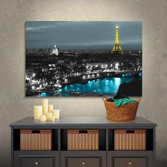 历史新低!Art Wall 巴黎夜景 24x32英寸风景帆布装饰画2.2折 31.07加元清仓!