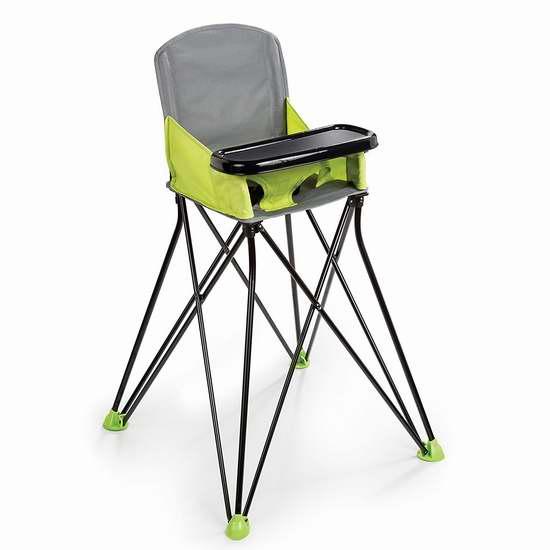历史最低价!Summer Infant Pop 'N Sit 便携式婴幼儿高脚餐椅 50.87加元包邮!2色可选!会员专享!