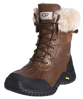 UGG Adirondack II 严寒系列 女士系带真皮短靴(5码)5.2折 153.63加元清仓!