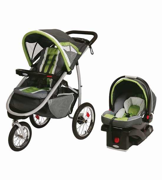 Graco 葛莱 FastAction 大三轮婴儿推车 + 车载提篮 499.99加元包邮!