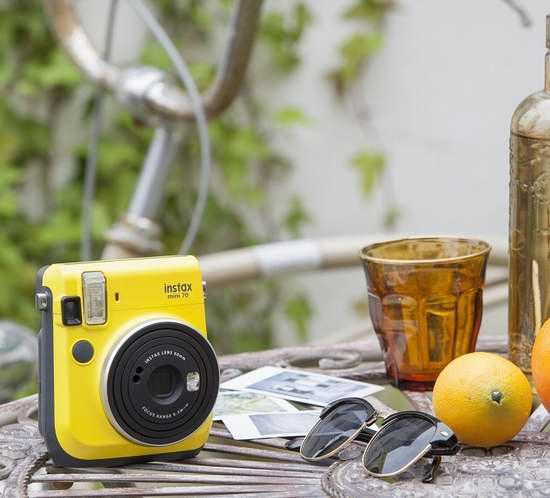 历史新低!Fujifilm 富士 Instax Mini 70 暖日黄 拍立得相机5.9折 99.97加元包邮!