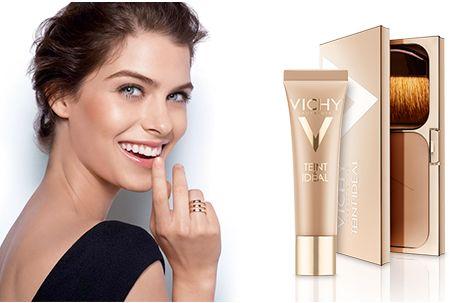 免费赠送 Vichy 薇姿 润滑精致粉底液+粉底霜试用装!