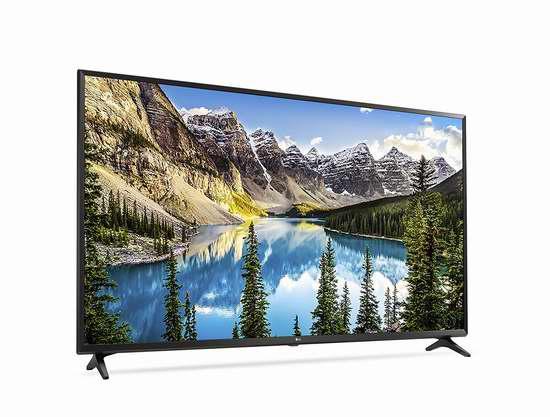 历史新低!2017新款 LG 60UJ6300 60寸4K超高清智能电视6.4折 1097.99加元包邮!