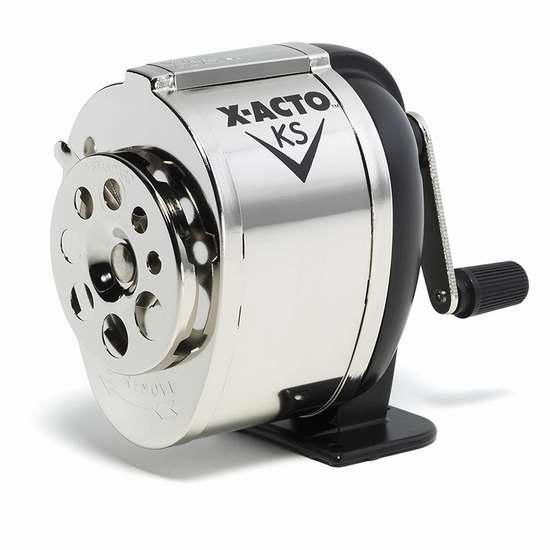 X-Acto Model KS 全金属手摇卷笔刀/铅笔刀 15.99加元!