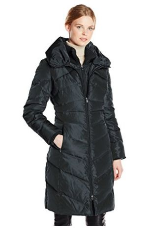 逆季清仓!历史新低!Jessica Simpson 女式长款羽绒服2.6折 67.36加元起包邮!两色可选!