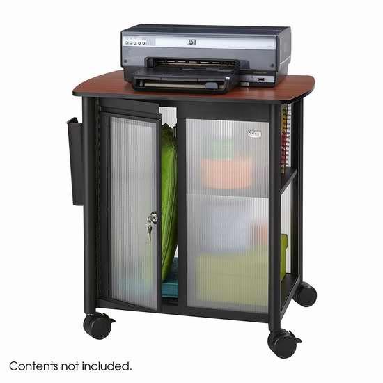 历史新低!Safco Products 5390BL 可移动式储物收纳柜2折 103.01加元包邮!