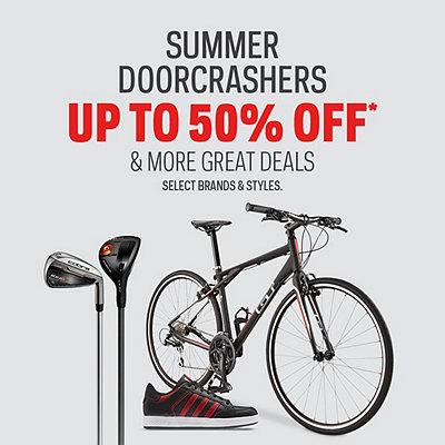 Sport Chek 破门抢购!精选99款运动鞋、自行车、旱冰鞋、网球拍等5折起!