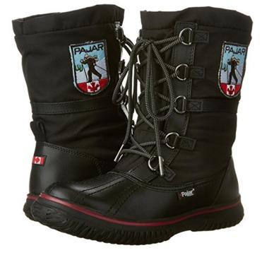 Pajar GRIP 女士中帮雪地靴(7-7.5码)2.7折 53.97加元包邮!