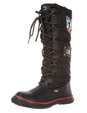 Pajar GRIP 女式高帮防水雪地靴(6-6.5码)3.8折 85.42加元包邮!