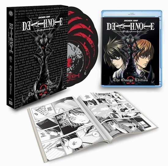 历史新低!《Death Note: Omega Edition 死亡笔记》蓝光影碟限量版4.2折 32.99加元!