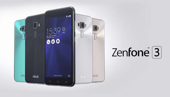 ASUS 华硕 Zenfone 3 灵智 64GB 5.5英寸智能手机 344.99加元包邮!两色可选!